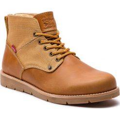 Kozaki LEVI'S - 225129-884-74 Medium Yellow. Brązowe buty zimowe męskie Levi's®, z materiału. W wyprzedaży za 289,00 zł.