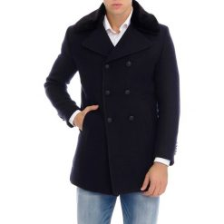 Płaszcze męskie: Płaszcz w kolorze granatowym