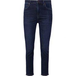 Citizens of Humanity ROCKET CROPPED Jeans Skinny Fit marysol. Niebieskie rurki damskie Citizens of Humanity, z bawełny. Za 1089,00 zł.