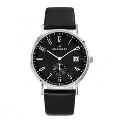 """Zegarek """"4460666"""" w kolorze czarno-srebrnym. Czarne, analogowe zegarki męskie Dugena & Nautec No Limit, srebrne. W wyprzedaży za 359,95 zł."""