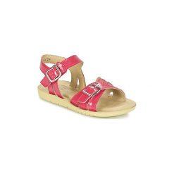 Sandały Dziecko  Start Rite  HARPER. Czerwone sandały dziewczęce marki Born2be, z materiału, z otwartym noskiem, na zamek. Za 231,20 zł.