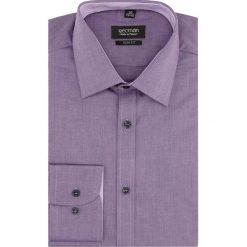 Koszule męskie: koszula bexley 2195 długi rękaw slim fit fiolet
