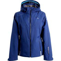 Schöffel KLOSTERS Kurtka snowboardowa blue dephts. Niebieskie kurtki sportowe damskie Schöffel, z materiału. W wyprzedaży za 1259,25 zł.