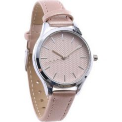 Beżowy Zegarek Range. Brązowe zegarki damskie Born2be. Za 29,99 zł.