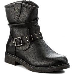 Botki JENNY FAIRY - WS16371-11A Czarny. Czarne buty zimowe damskie Jenny Fairy, ze skóry ekologicznej. Za 129,99 zł.