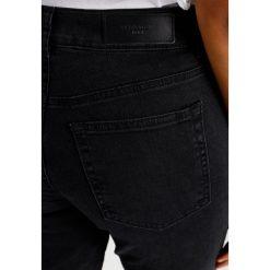 Vero Moda VMSTEPHANIE ANKLE Jeansy Slim Fit black. Czarne rurki damskie Vero Moda. W wyprzedaży za 197,10 zł.