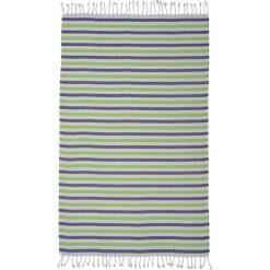 Kąpielówki męskie: Ręcznik w kolorze biało-szaro-zielonym