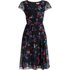 Sukienki hiszpanki: Dorothy Perkins Petite BUTTERFLY V NECK Sukienka letnia black
