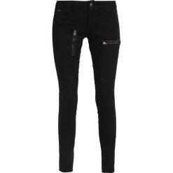 GStar POWEL MID SKINNY COJ  Jeansy Slim Fit black. Czarne jeansy damskie G-Star, z bawełny. W wyprzedaży za 351,75 zł.