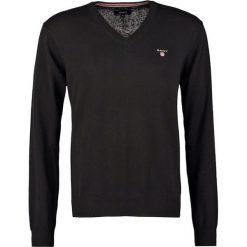 GANT Sweter black. Czarne swetry klasyczne męskie GANT, m, z bawełny. Za 419,00 zł.
