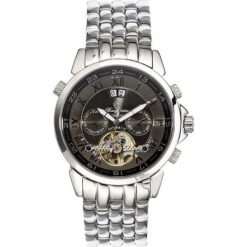 """Zegarki męskie: Zegarek """"California"""" w kolorze srebrno-czarnym"""