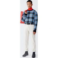 Sweter w kratkę. Zielone swetry klasyczne męskie marki QUECHUA, m, z elastanu. Za 109,00 zł.