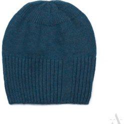 Czapka damska Simple & cozy morska. Zielone czapki zimowe damskie marki Art of Polo. Za 42,47 zł.