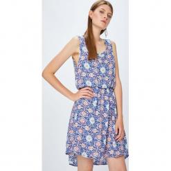 Haily's - Sukienka. Szare sukienki mini Haily's, na co dzień, m, z tkaniny, casualowe, z okrągłym kołnierzem, oversize. Za 59,90 zł.