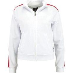 GStar LAJLA SPORTS ZIP  Kurtka sportowa white. Białe kurtki damskie softshell G-Star, m, z bawełny. Za 369,00 zł.