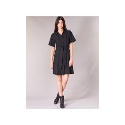 Sukienki krótkie G-Star Raw  BRISTUM DC SHIRT DRESS. Sukienki małe czarne marki G-Star RAW, l, z bawełny. Za 619,00 zł.