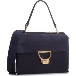 Torebka COCCINELLE - DD6 Arlettis Suede E1 DD6 12 06 01 Bleu B11. Niebieskie torebki klasyczne damskie Coccinelle, ze skóry. Za 1699,90 zł.