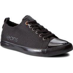 Trampki CALVIN KLEIN JEANS - Arturo S0475 Black. Czarne trampki męskie Calvin Klein Jeans, z gumy. Za 439,00 zł.