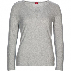 """Koszulka piżamowa """"Fashion Dreams"""" w kolorze jasnoszarym. Białe koszule nocne i halki marki LASCANA, w koronkowe wzory, z koronki. W wyprzedaży za 45,95 zł."""