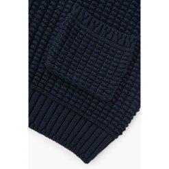 Mango Man - Sweter Binger. Szare swetry klasyczne męskie Mango Man, l, z bawełny. W wyprzedaży za 99,90 zł.