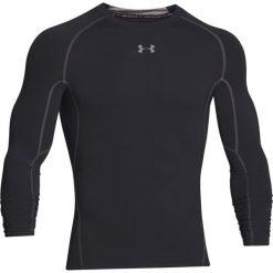 Under Armour Koszulka męska HeatGear LS Compression czarna r. S (1257471-001). Szare koszulki sportowe męskie marki Under Armour, z elastanu, sportowe. Za 109,00 zł.