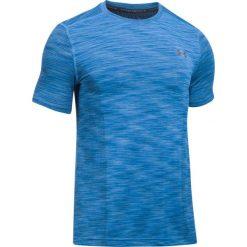 Under Armour Koszulka męska Threadborne Seamless niebieska r. M (1289596-983). Niebieskie koszulki sportowe męskie Under Armour, m. Za 159,99 zł.