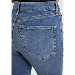 Boyfriendy damskie: Topshop Petite JAMIE Jeans Skinny Fit blue denim