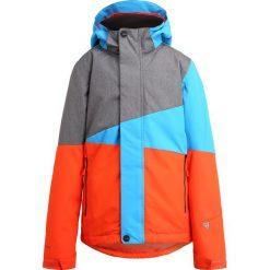 Brunotti IDAHO  Kurtka snowboardowa dark grey melee. Brązowe kurtki damskie narciarskie Brunotti, z materiału. W wyprzedaży za 293,30 zł.