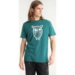 T-shirty męskie z nadrukiem: Knowledge Cotton Apparel DIAGRAM OWL  Tshirt z nadrukiem baybarry