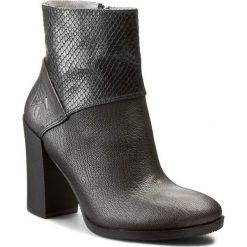 Botki KARINO - 1388/078-P Srebrny. Fioletowe buty zimowe damskie marki Karino, ze skóry. W wyprzedaży za 229,00 zł.
