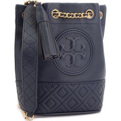 Torebki klasyczne damskie: Torebka TORY BURCH - Fleming Mini Bucket Bag 49321 Royal Navy 403