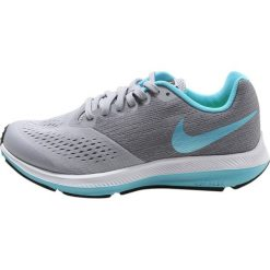 Nike Performance ZOOM WINFLO 4 Obuwie do biegania treningowe wolf grey/polarized blue/cool grey/polarized blue. Szare buty do biegania damskie marki Nike Performance, z materiału. W wyprzedaży za 181,35 zł.