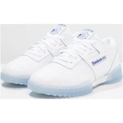 Reebok Classic WORKOUT CLEAN RIPPLE Tenisówki i Trampki white/acid blue/ice. Białe tenisówki damskie Reebok Classic, z materiału. W wyprzedaży za 344,25 zł.