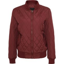 Bomberki damskie: Urban Classics Ladies Diamond Quilt Nylon Jacket Kurtka damska burgund