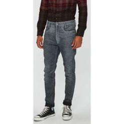 G-Star Raw - Jeansy D-Staq 3D. Szare jeansy męskie skinny G-Star RAW, z bawełny. Za 799,90 zł.