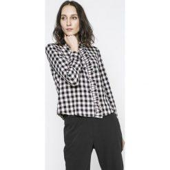 Noisy May - Koszula Erik. Szare koszule damskie w kratkę marki Noisy May, l, z bawełny, casualowe, z klasycznym kołnierzykiem, z długim rękawem. W wyprzedaży za 79,90 zł.