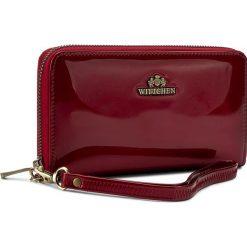 Duży Portfel Damski WITTCHEN - 25-1-485-3 Red. Czerwone portfele damskie Wittchen, z lakierowanej skóry. W wyprzedaży za 289,00 zł.