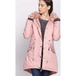 Różowa Kurtka Night Frost. Brązowe kurtki damskie zimowe marki QUECHUA, m, z materiału. Za 339,99 zł.
