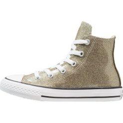 Converse CHUCK TAYLOR ALL STAR HI Tenisówki i Trampki wysokie gold/natural/white. Żółte trampki dziewczęce Converse, z materiału, retro. Za 229,00 zł.