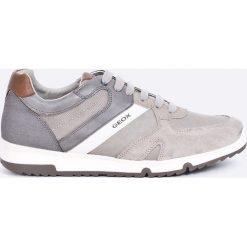 Geox - Buty. Szare buty skate męskie Geox, z gumy, na sznurówki. W wyprzedaży za 269,90 zł.
