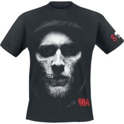 T-shirty męskie z nadrukiem: Sons Of Anarchy Jax T-Shirt czarny