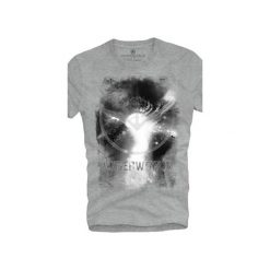 T-shirt UNDERWORLD Ring spun cotton Space. Szare t-shirty męskie z nadrukiem marki Underworld, m, z bawełny. Za 59,99 zł.