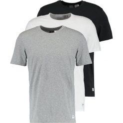 Adidas Originals 3 PACK Tshirt basic core heather/white/black. Szare koszulki polo marki adidas Originals, l, z nadrukiem, z bawełny, z kapturem. Za 229,00 zł.