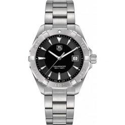 ZEGAREK TAG HEUER AQUARACER WAY1110.BA0928. Czarne zegarki męskie marki KALENJI, ze stali. Za 6140,00 zł.
