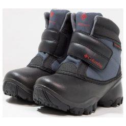 Columbia ROPE TOW KRUSER Śniegowce graphite/bright red. Szare buty zimowe damskie marki Columbia, ze skóry ekologicznej. W wyprzedaży za 164,45 zł.