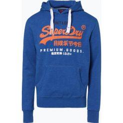 Superdry - Męska bluza nierozpinana, niebieski. Niebieskie bluzy męskie rozpinane Superdry, m, z nadrukiem. Za 249,95 zł.