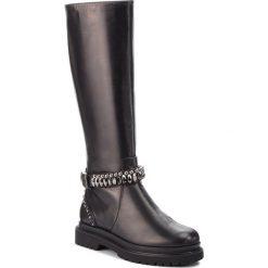 Kozaki BALDININI - 949708PEMIC000000FEX Nero. Czarne buty zimowe damskie Baldinini, ze skóry, na obcasie. Za 2999,00 zł.