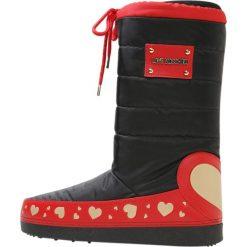 Love Moschino Śniegowce nero. Szare buty zimowe damskie marki Love Moschino, z materiału. Za 669,00 zł.