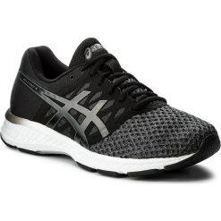 Buty ASICS - Gel-Exalt 4 T7E0N Dark Grey/Black/White 9590. Czarne buty do biegania męskie Asics, z materiału. W wyprzedaży za 289,00 zł.