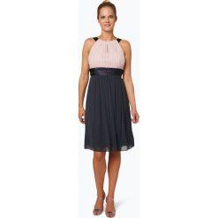 Marie Lund - Damska sukienka koktajlowa, szary. Niebieskie sukienki mini marki Marie Lund, z szyfonu, eleganckie. Za 499,95 zł.
